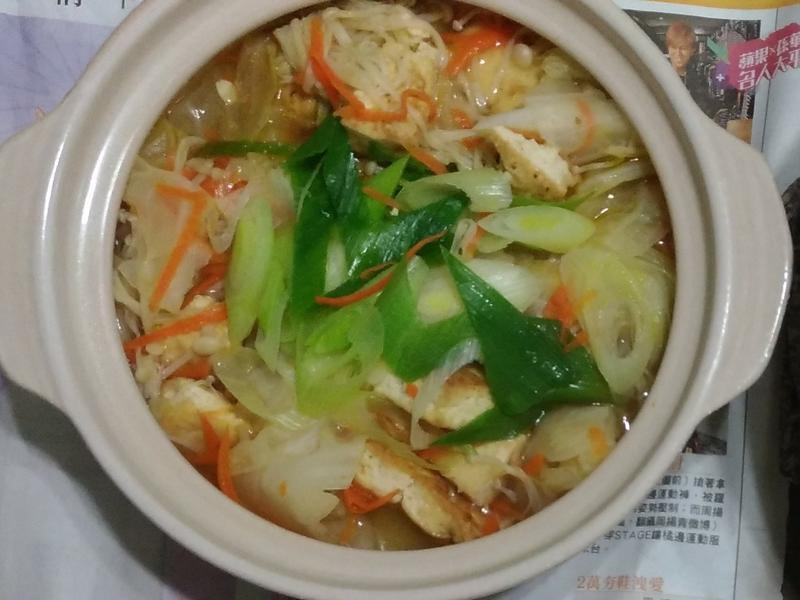 壽喜豆腐煲