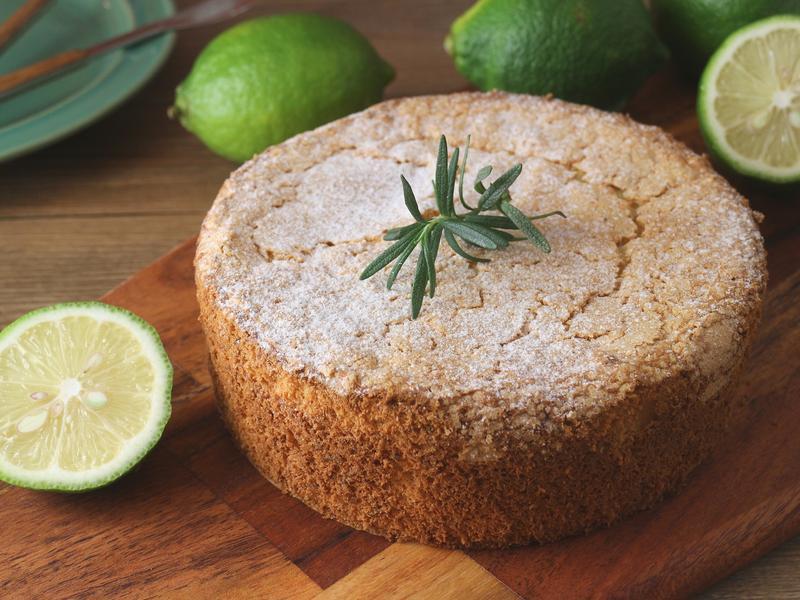 檸檬迷迭香橄欖油蛋糕