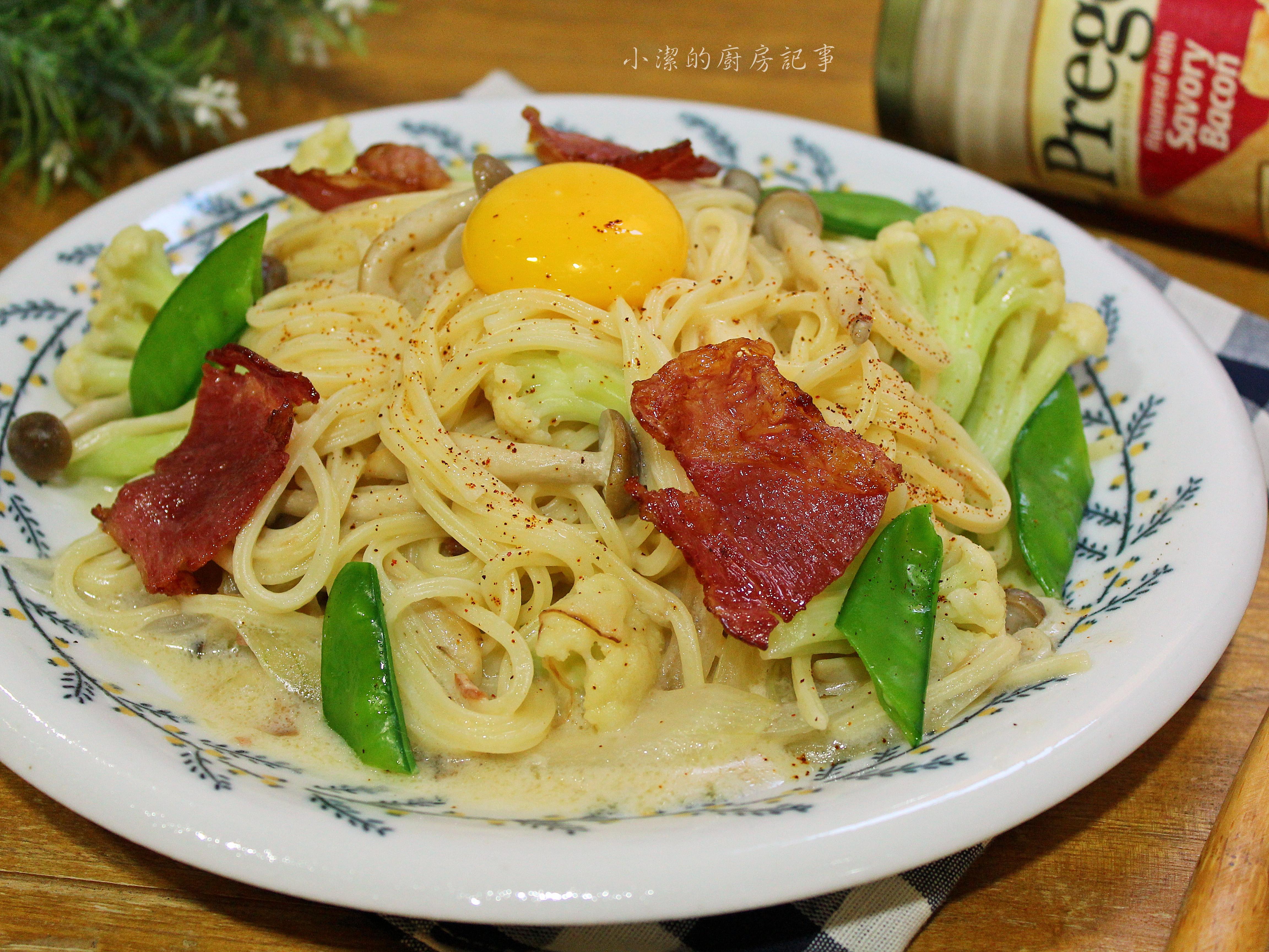 培根蛋黃義大利麵