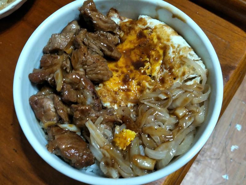 港(粵)式豬排飯~一鍋到底~