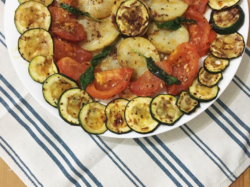 香煎馬鈴薯時蔬