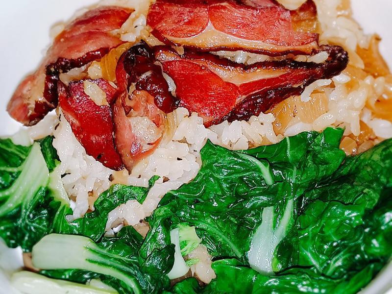🦆🍄🍚燻鴨茶樹菇炊飯