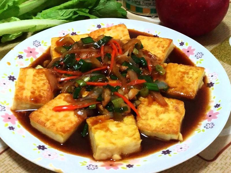 照燒雞蛋豆腐