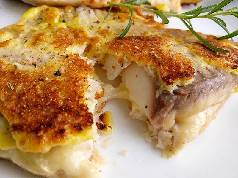 蛋煎起司鯛魚排〞