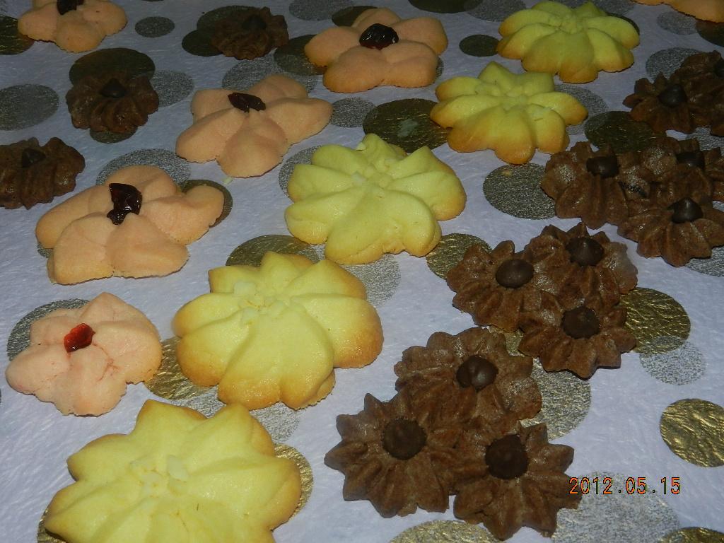 ㄚ曼達的廚房~奶酥餅乾連三發
