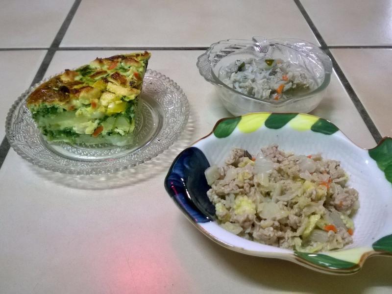 鮮食🐾西班牙烘蛋 鯖魚湯麵 什錦炒肉