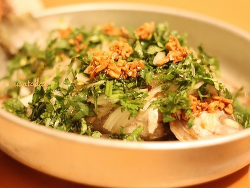 【東煮】緬甸式檸檬蒸魚 Burmese style lemon fish