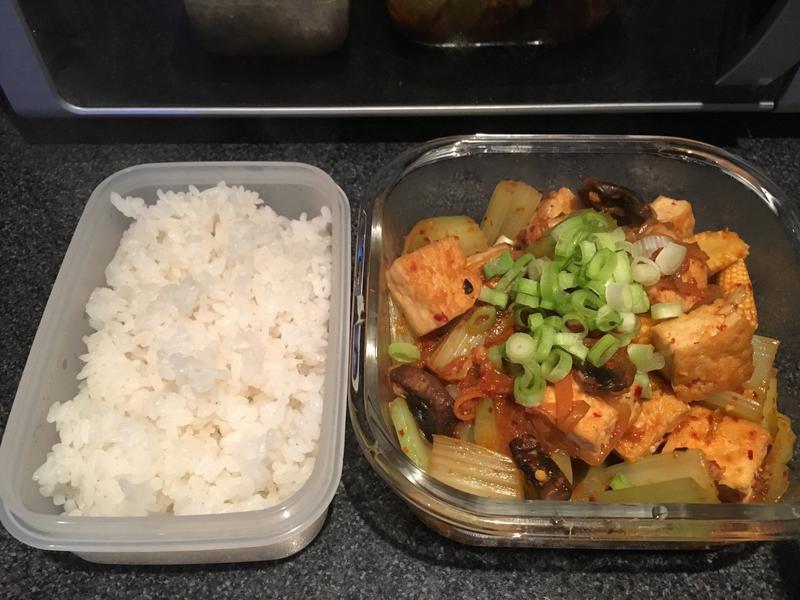 【便當菜式】韓式辣醬煮豆腐