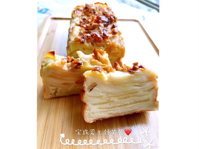 看不見的法式蘋果蛋糕