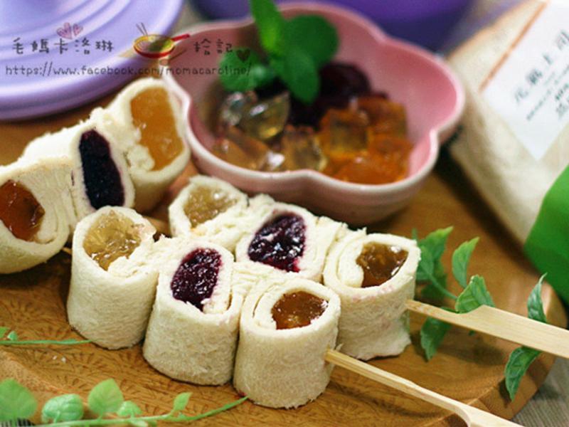 三味果凍軟土司串