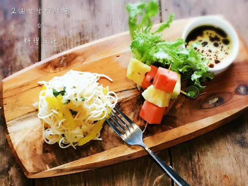 義式酸菜水果天使冷麵【百味來私房美味】
