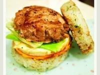 七彩繽紛米漢堡