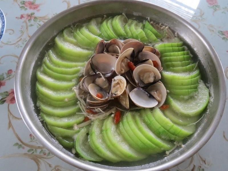 絲瓜蛤犡~辦桌版