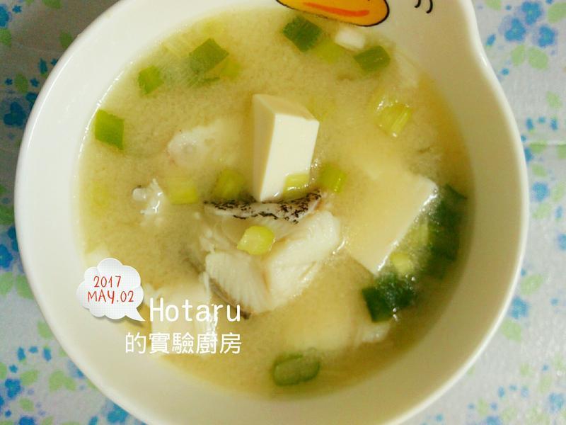鱈魚味噌湯