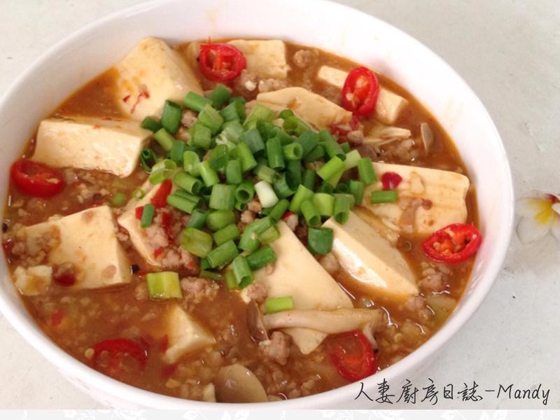 麻婆嫩豆腐【好菇道好食光】