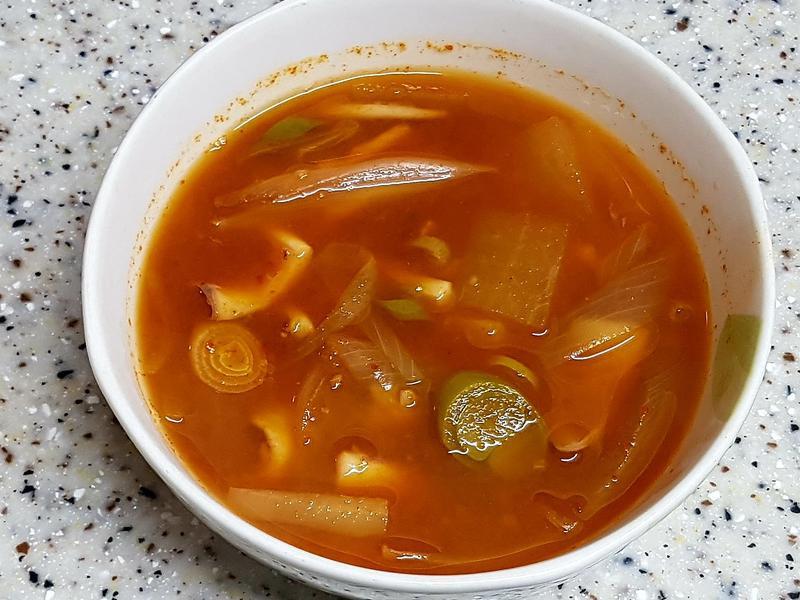 (韓式)魷魚湯 오징어국