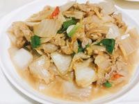 酸白菜炒肉片