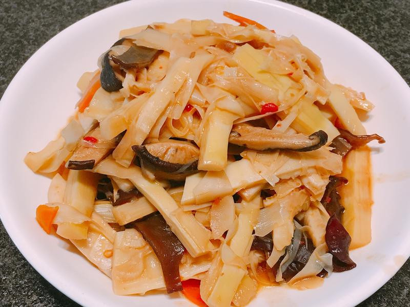 辣炒桂竹筍~全素