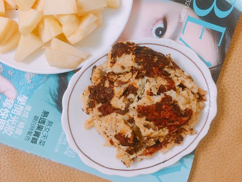 香蕉燕麥煎餅(無油無糖)