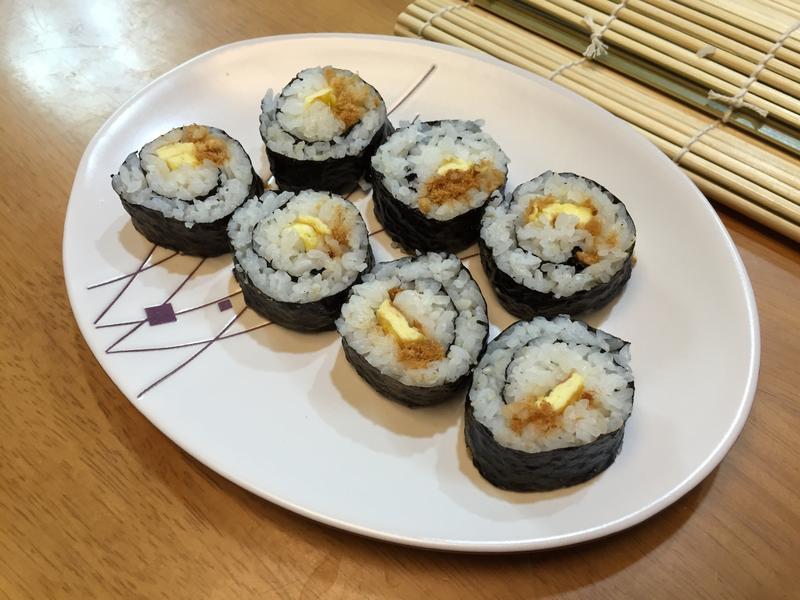 肉鬆蛋壽司