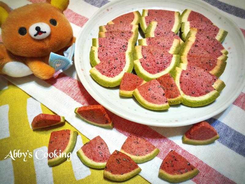 西瓜造型餅乾