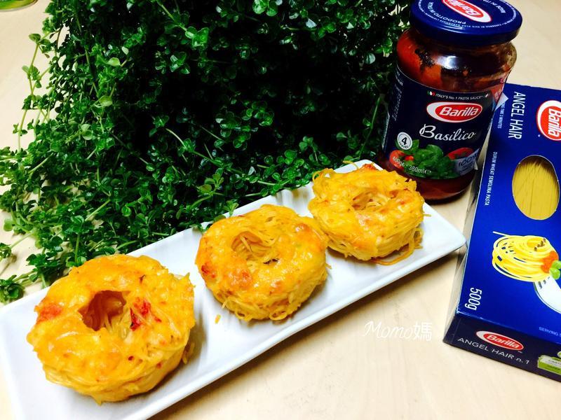 番茄義大利麵甜甜圈~百味來私房美味