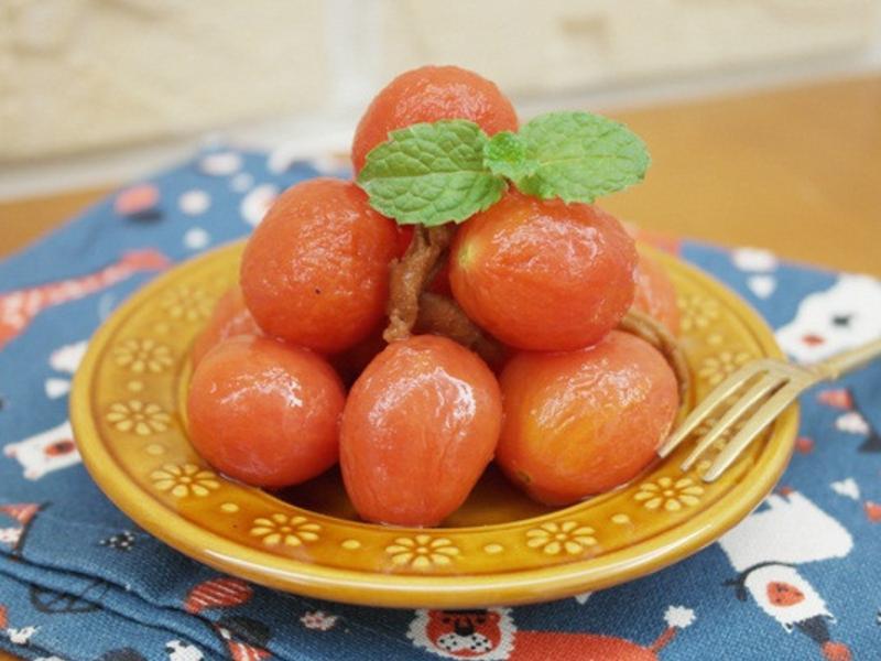 好清爽「梅漬番茄」酸酸甜甜開胃小點