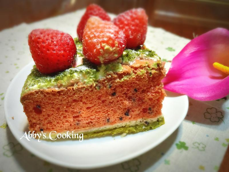 西瓜造型蛋糕