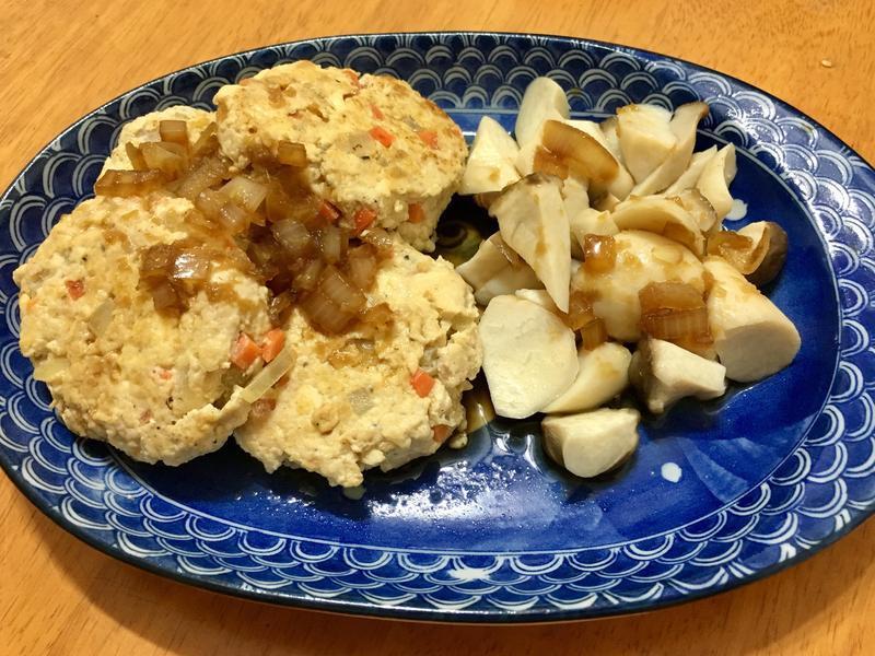 和風豆腐雞肉排