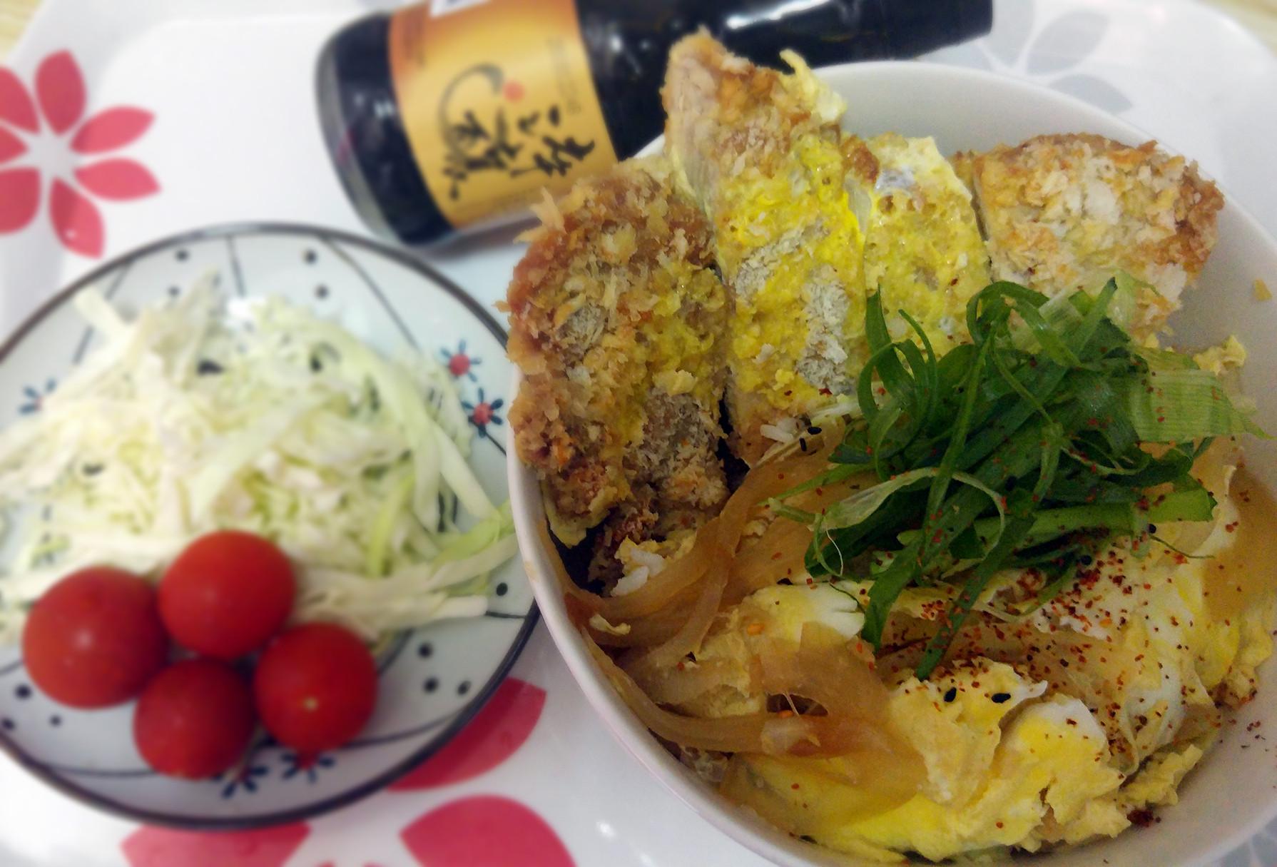 不油炸,日式豬排丼【淬釀全菜單挑戰賽】