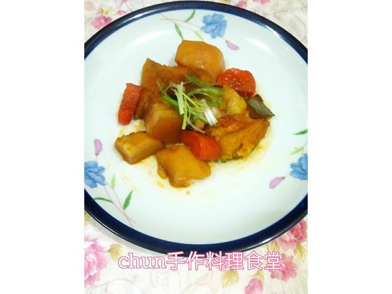 南瓜馬鈴薯燉肉(淬釀全菜單挑戰賽)