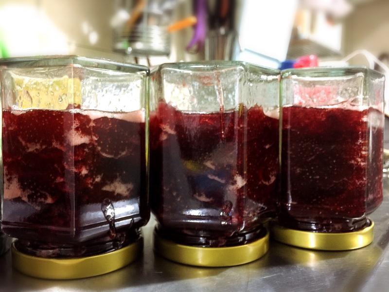 手工草莓果醬