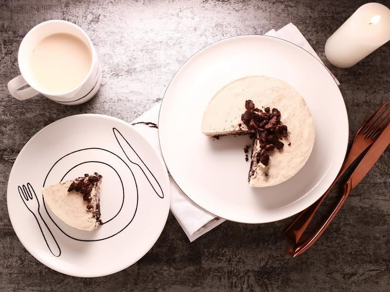 OREO錫蘭奶茶慕斯蛋糕 - 免烤箱