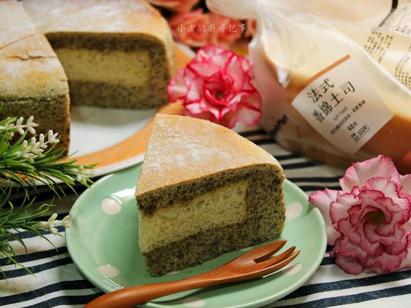 芝麻吐司蛋糕