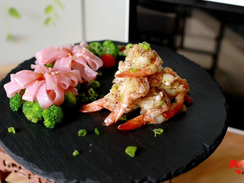 影音版 簡易料理 甜根菜腸粉 鮮貝蝦捲