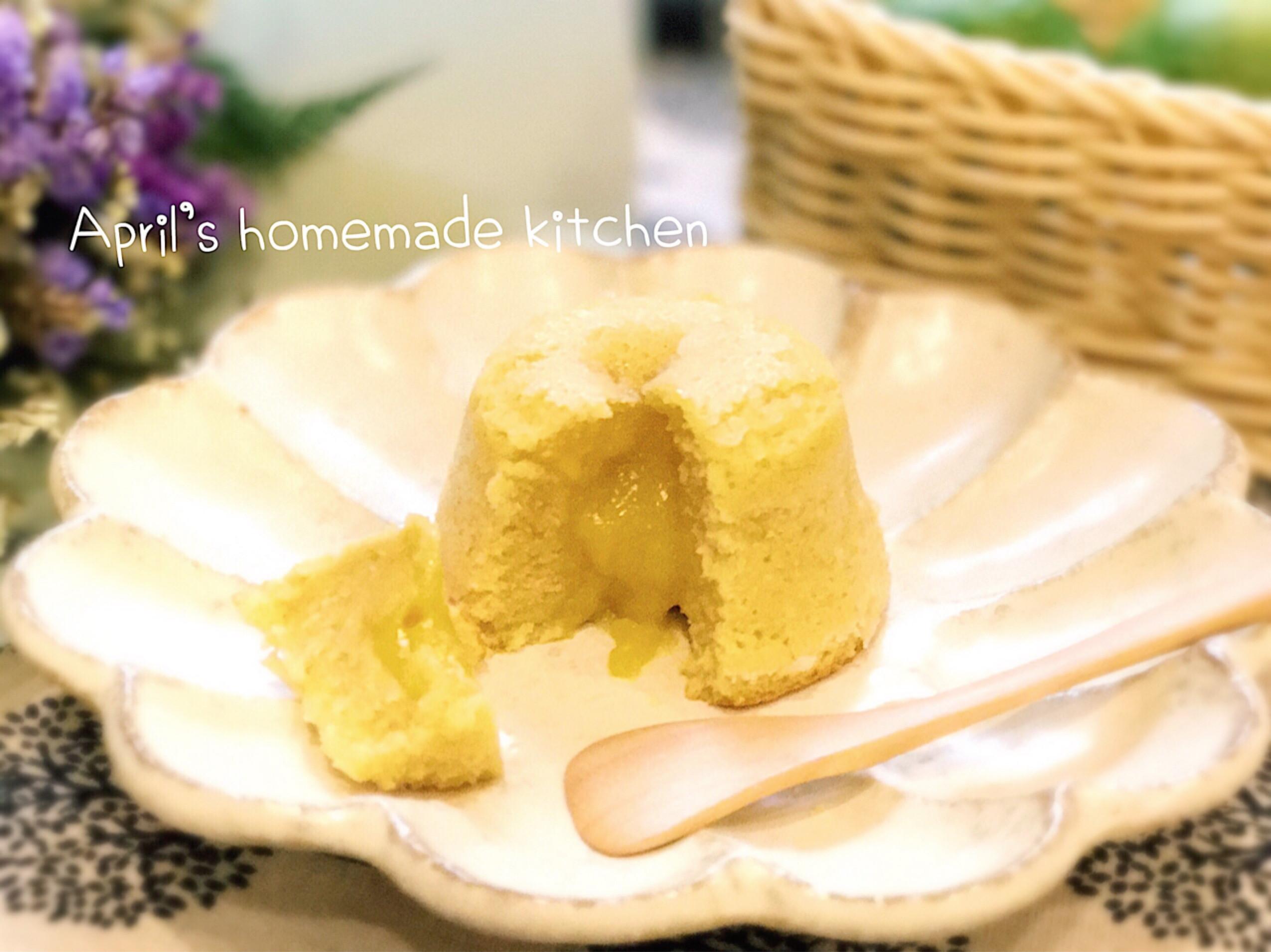 脆皮檸檬流心蛋糕