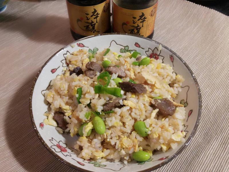 毛豆牛小排炒飯【淬釀全菜單挑戰賽】