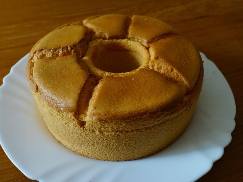 老爸專屬蛋糕No.1椰香米粉戚風蛋糕