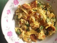 洋蔥秋葵偽蚵蛋煎
