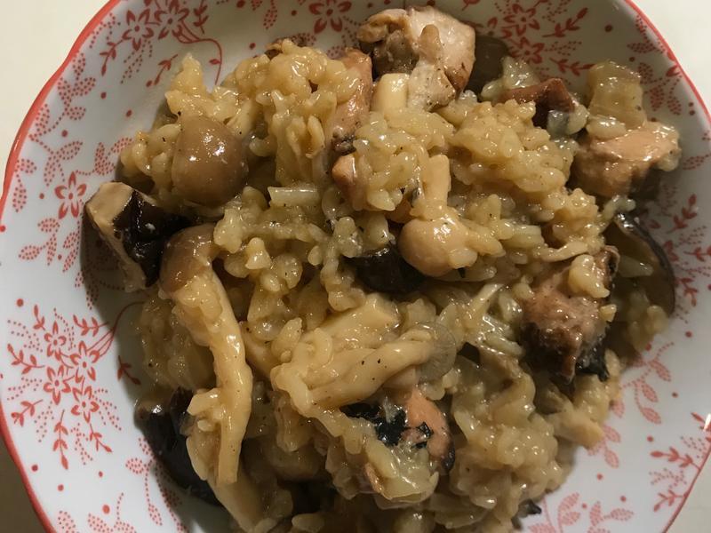 香菇雞燉飯