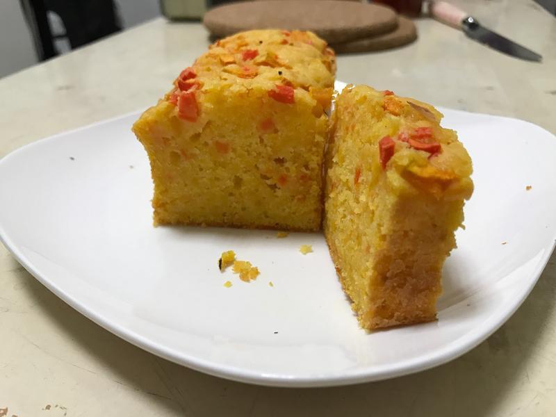紅蘿蔔南瓜磅蛋糕
