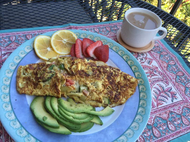 營養早餐歐姆蛋