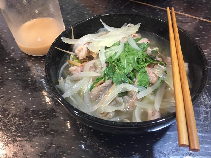 檸檬牛肉湯麵