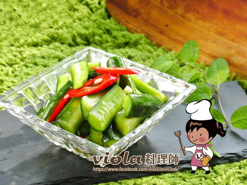 涼拌小黃瓜(夾鍊袋妙用法)