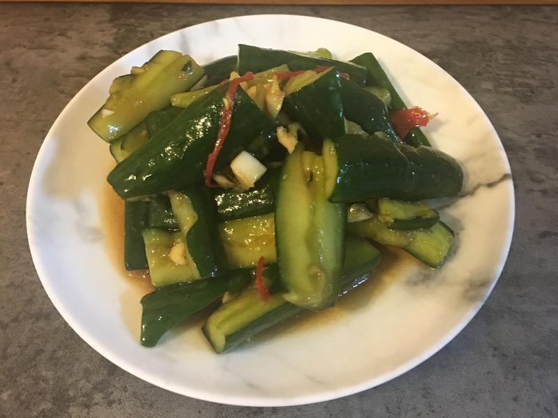 夏日涼拌小黃瓜[淬釀全菜單挑戰賽]