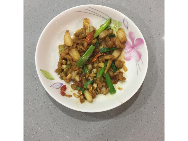 香炒蟹腳肉 超快速【淬釀全菜單挑戰賽】