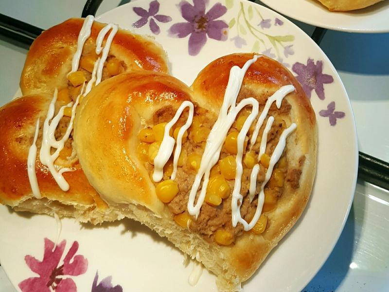 鮪魚玉米美奶滋麵包