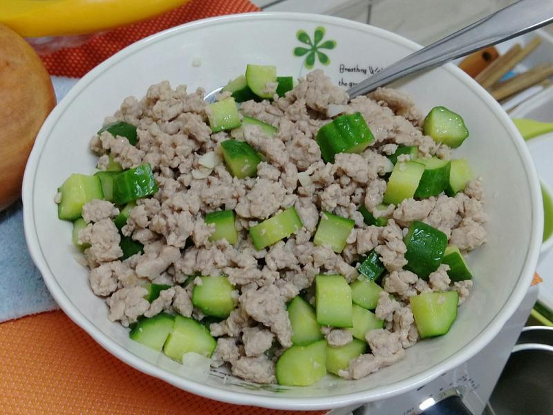 小黃瓜炒肉末