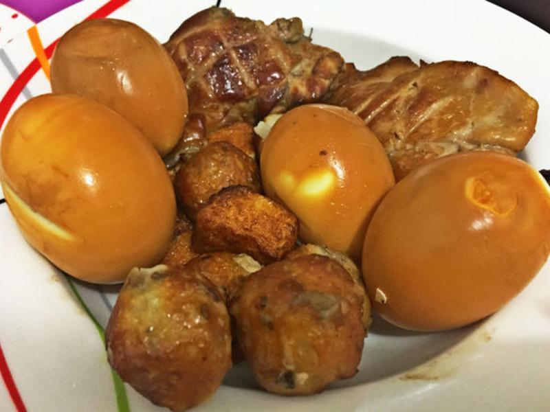 ♥高山茶煙燻(雞腿、雞蛋、魚豆腐、魚丸)