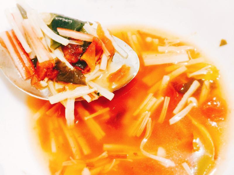 義式低卡時蔬蕃茄湯【百味來私房美味】